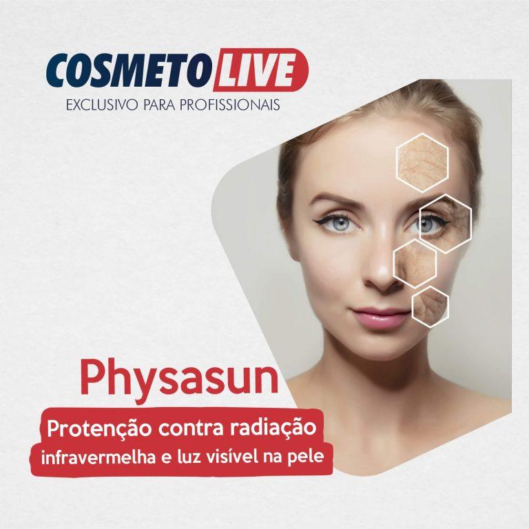 Physasun: Proteção contra radiação infravermelha e luz visível na pele